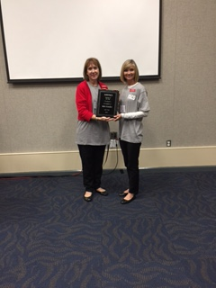 Kim Fowler AATFACS Teacher of the Year